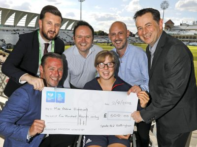 Nelson_s SportsAid cheque - 2(8806574_1)