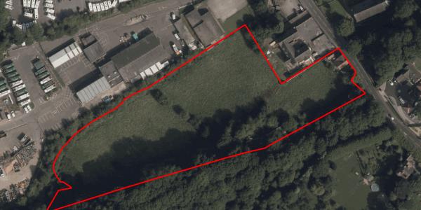 Aerial - land at Church Hill, Kimberley, Nottingham, NG16 2HY